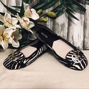Michael Kors Zebra Ballet Flats